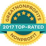 GreatNonprofits 2017 top rated nonprofit